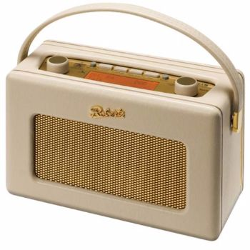 Roberts  Roberts DAB Radio – Cream: The iconic 'Revival' DAB radio is a nostalgic 1950s style retro radio with advanced DAB features. In a range of colours it not only looks great it sounds great too. Now with 120 hours battery life this fantastic DAB radio is more portable than ever.