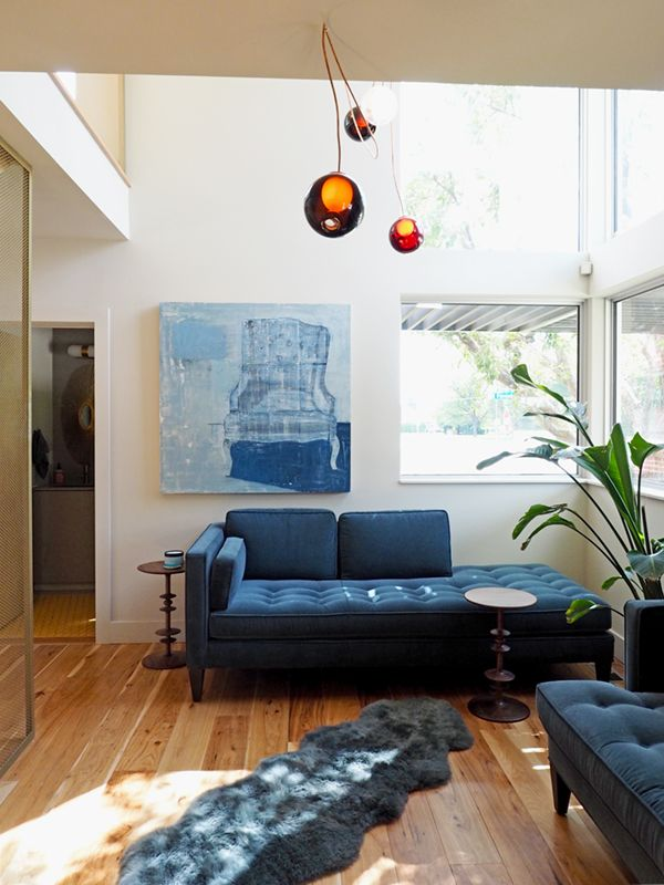 Blue Sofas And Rooms