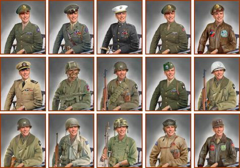 Uniforms of WWII interesting site covering many WWII ...
