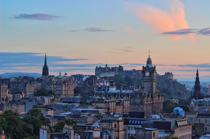 #Edinburgh from Calton Hill, definitely one of my favorite places