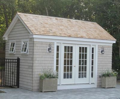 Custom Pool House | Buildings  Sheds and Pool Houses from Walpole Woodworkers