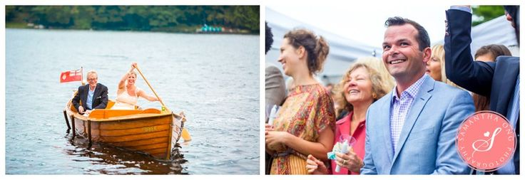 Lake Muskoka Island Cottage Wedding Photos: Kelly and Morgan