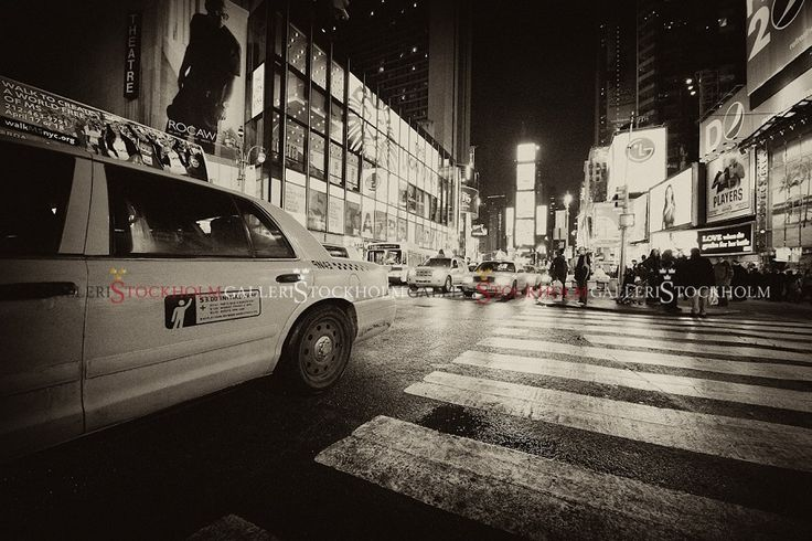 Per Mikaelsson - Time Square Cab - New York