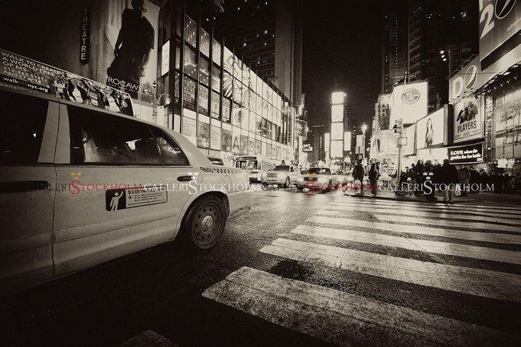Per Mikaelsson - Time Square Cab - New York