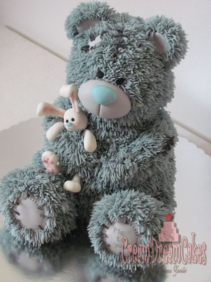 Tatty Teddy Bear Cake — my 2 favourite things together, tatty teddy and cake! Love this.