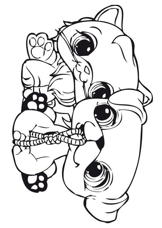 shops coloring pages - photo#14