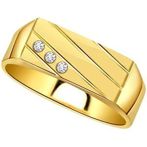 John Diamond Ring Made in Real Diamond and 18kt Gold.Customize As per your Style and Budget.Get Exact Diamond Quality and weight.