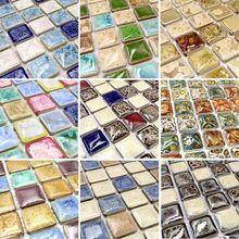 multicolore disponibles porcelaine mosaque cuisine backsplashl carreaux hmcm1009n salle de bains carrelage de porcelaine en cramique - Faience Multicolore Cuisine