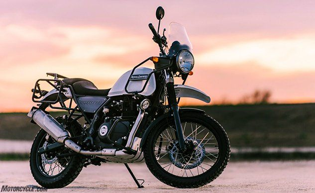 2018 Royal Enfield Himalayan Review First Ride Enfield