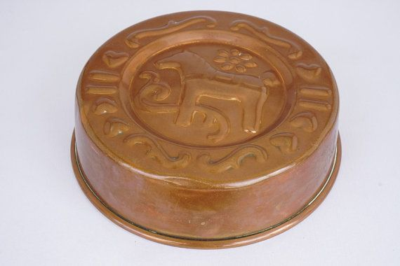 Swedish Dala Horse Copper Mold by ScandicDiscovery on Etsy