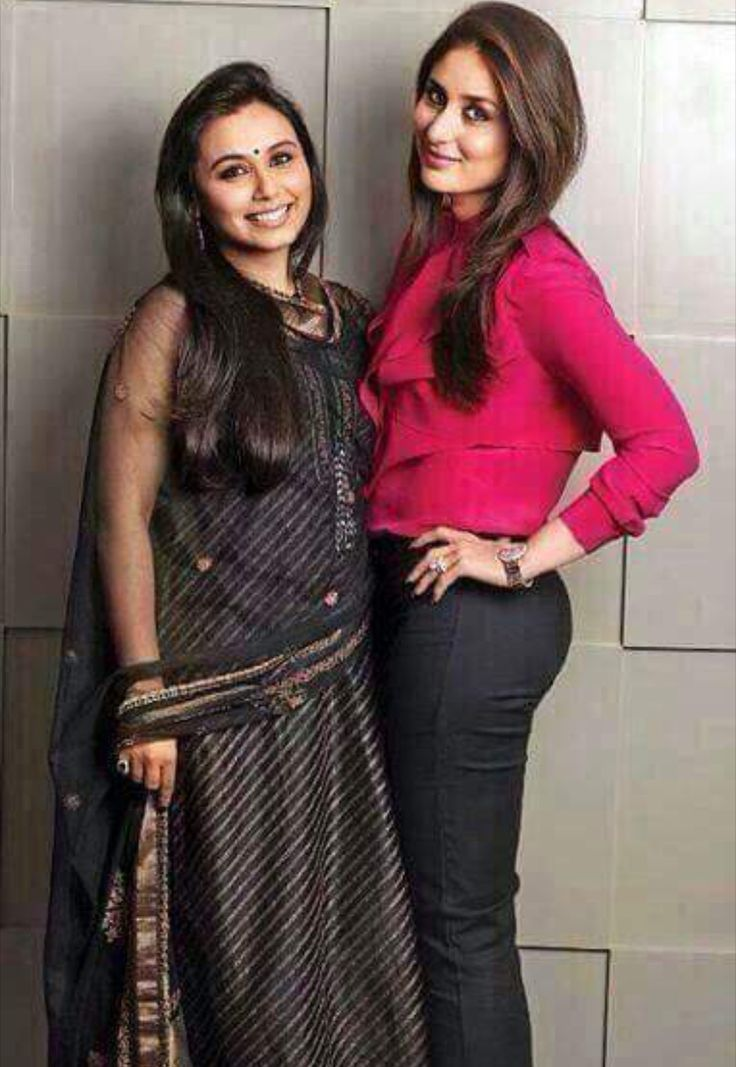 Beautiful gorgeous stunning sexy hot Kareena Kapoor with rani Mukherjee