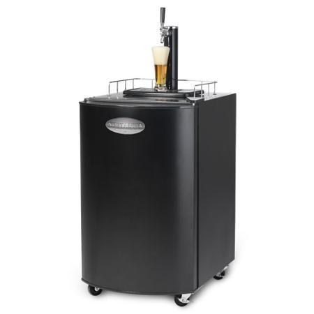 Nostalgia Electrics Kegorator Beer Keg Fridge, Black, KRS2100 - Walmart.com