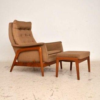 Danish Designer Retro Vintage 50's 60's 70's Lounge Office Furniture for sale London Dux | retrospectiveinteriors.com