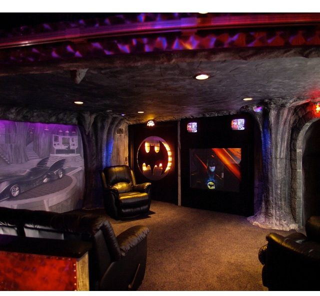Batman Man Cave