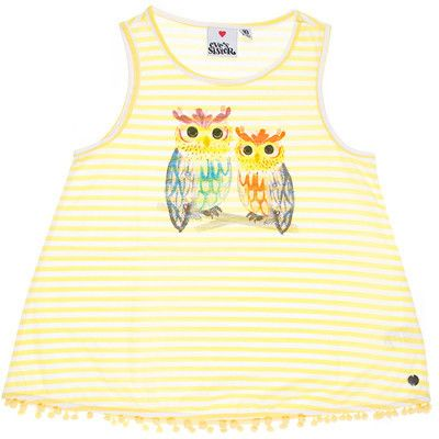 Eve's Sister girls Hoot Tank