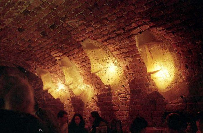 """Pub 'Kontakt"""" Wrocław Poland 1998"""
