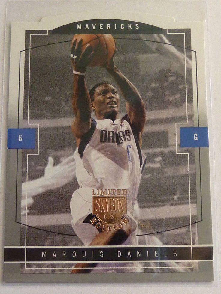 2003-04 Skybox LE MARQUIS DANIELS Rookie Card RC #121 #/399 Mavericks Die-Cut #DallasMavericks