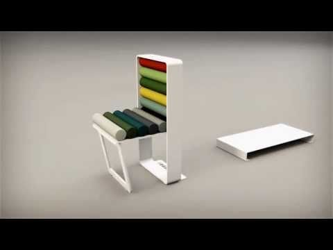 Colourbox seduta by ZATOO DESIGNSTUDIO - YouTube ha scelto webee
