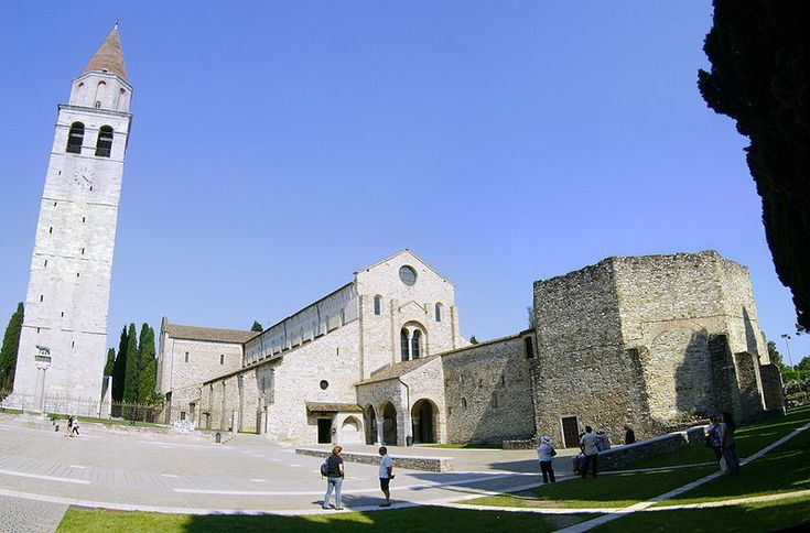 The basilica of the Assumption of St. Mary in Aquileia, in the Province of Udine, Friuli-Venezia Giulia
