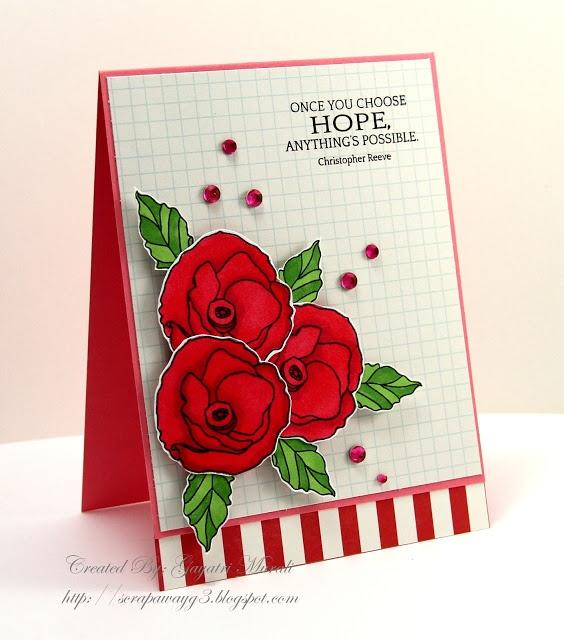 Handmade by G3: Choose Hope!