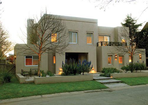 Las 25 mejores ideas sobre frentes de casas modernas en - Arquitectos casas modernas ...