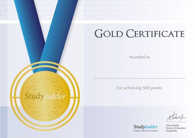 Gold Certificate