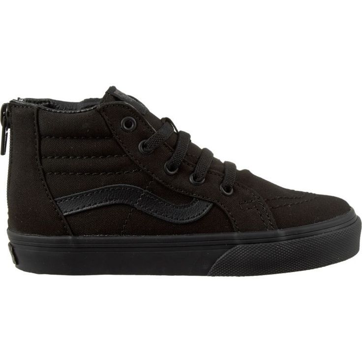 Vans Toddler Sk8-Hi Zip Shoes, Toddler Boy's, Black