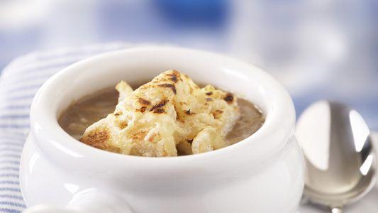 Sopa de Cebolla Gratinada   Recetas Alpina Colombia