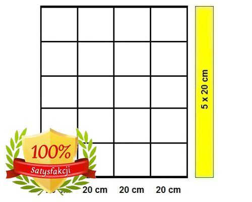 Siatka leśna - 100/6/20 L/K20 - rolka 25 m