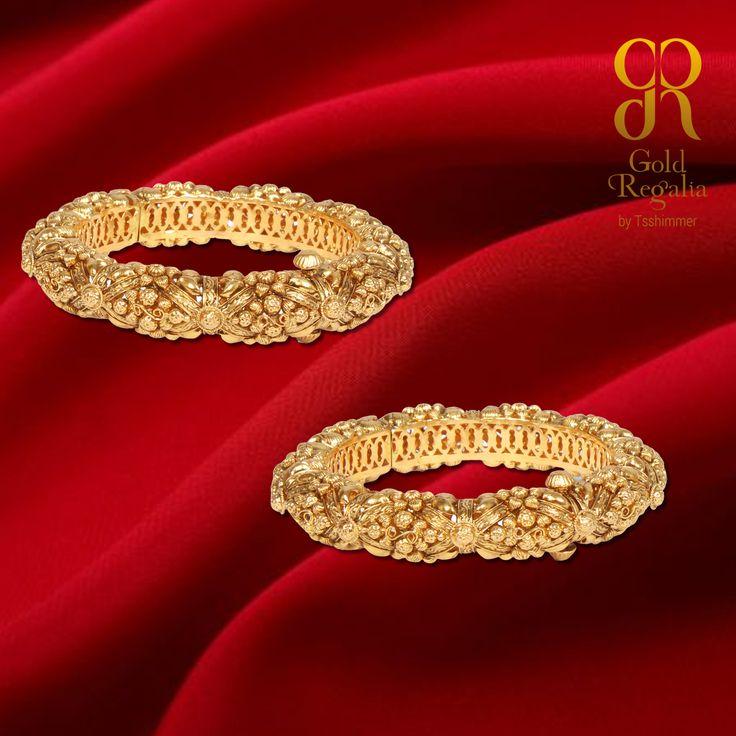 """""""#Jewelry is a way of keeping memories alive."""" : http://goo.gl/WYw1F7 #GoldBangles #JaipuriKadas #Jaipurijewelry #Fashionjewellery #indianJewelry"""
