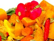 Vibrant and Vegan Thai Pumpkin Curry with Citrus Flavors: Thai Pumpkin Curry Infused with Citrus