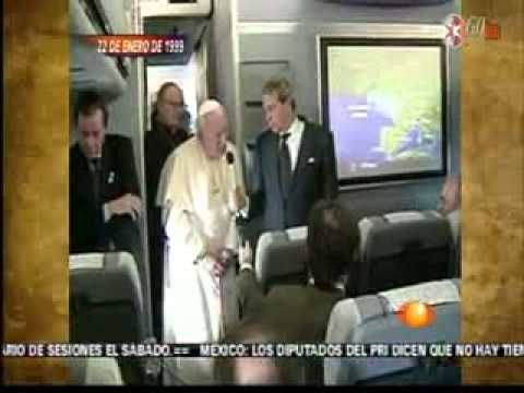 Juan Pablo II un Papa mexicano Noticiero con Joaquin Lopez  Doriga cuarta visita