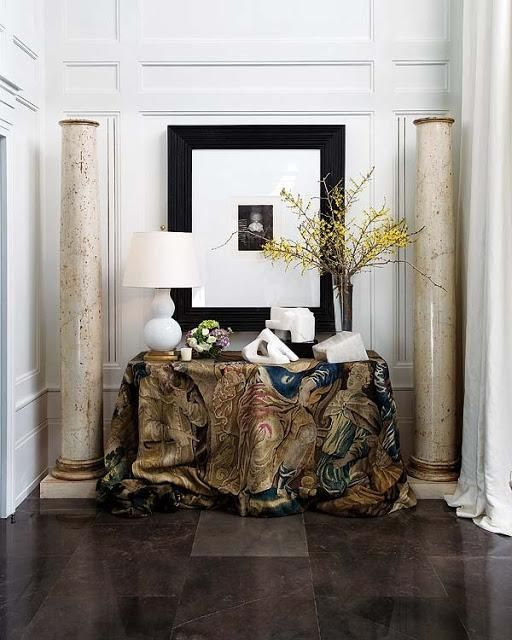 Foyer Decor 24 best foyer images on pinterest | decorating ideas, home and