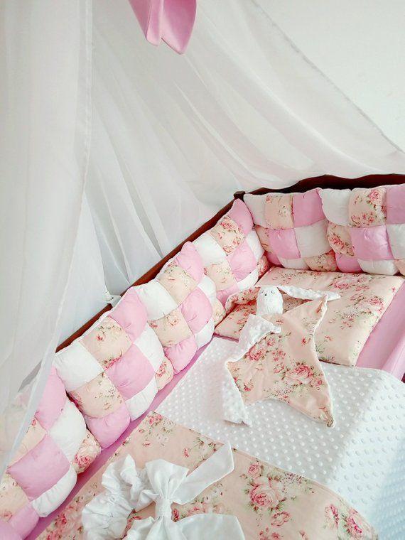 Cot Bumper Baby Bedding Set Baby Girl Gifts Crib Bumper Baby Girl Crib Nursery Set Nursery Cot Sets Cot Bedding Set Boy Baby Blanket Organic