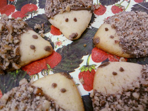 Cookies de porco-espinho