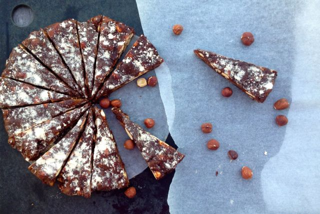 Panforte .... heavenly... gluten free and cane sugar free too!
