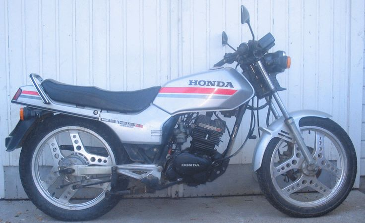 honda cb 125 twin deluxe got this when i was old enough to drive 125cc twin engine once. Black Bedroom Furniture Sets. Home Design Ideas