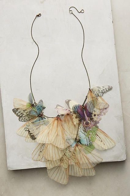 Erynnis Necklace - whimsical necklace ideas, butterfly necklace