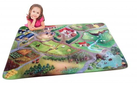 cca 30 EUR, koberec Farma - mäkká verzia