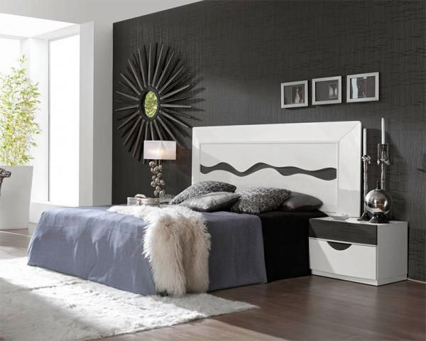 Fenicia Contemporary High Gloss White Bed with Opt Bedside Cabinets  See more Find this Pin and on Designer Bedroom Furniture 15 best images