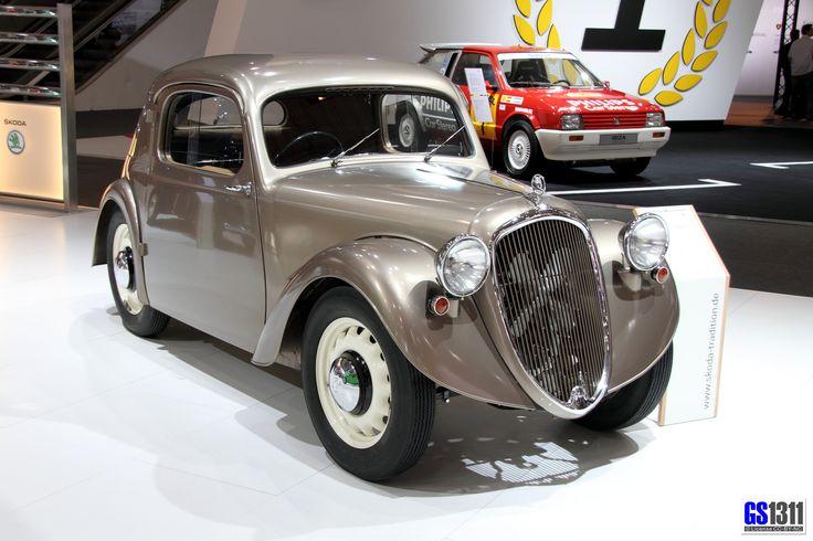 1936 - 1937 Škoda Sagitta Prototyp (Typ 911)