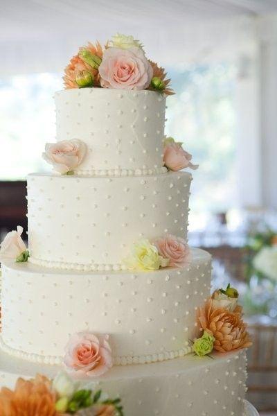 Summer Wedding Cake Ideas, Wedding Cakes Photos by MCG Photography, LLC