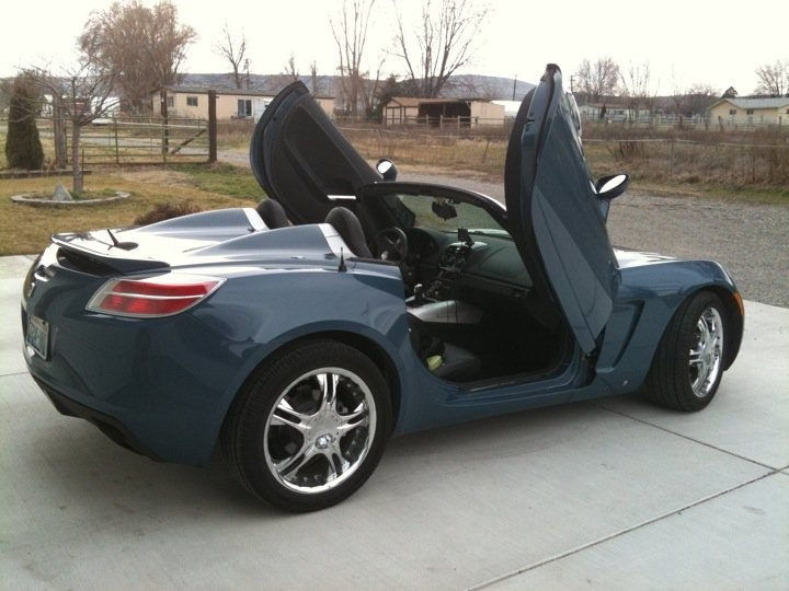 2007 Saturn Sky with Lambo doors  My Cars and Motorcycles