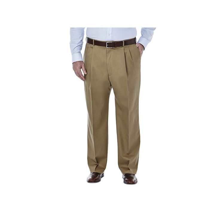 I have struggled finding no-iron pants for my husband, who has worn Docker's and Land's End for years. These are actually as they say wrinkle-free! they wash well and fit nicely.