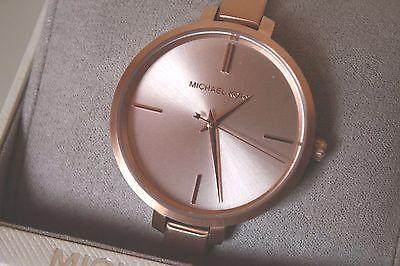 Michael Michael Kors Jaryn Rose Gold Women's Watch MK3547 $195 Retail Brand NEW