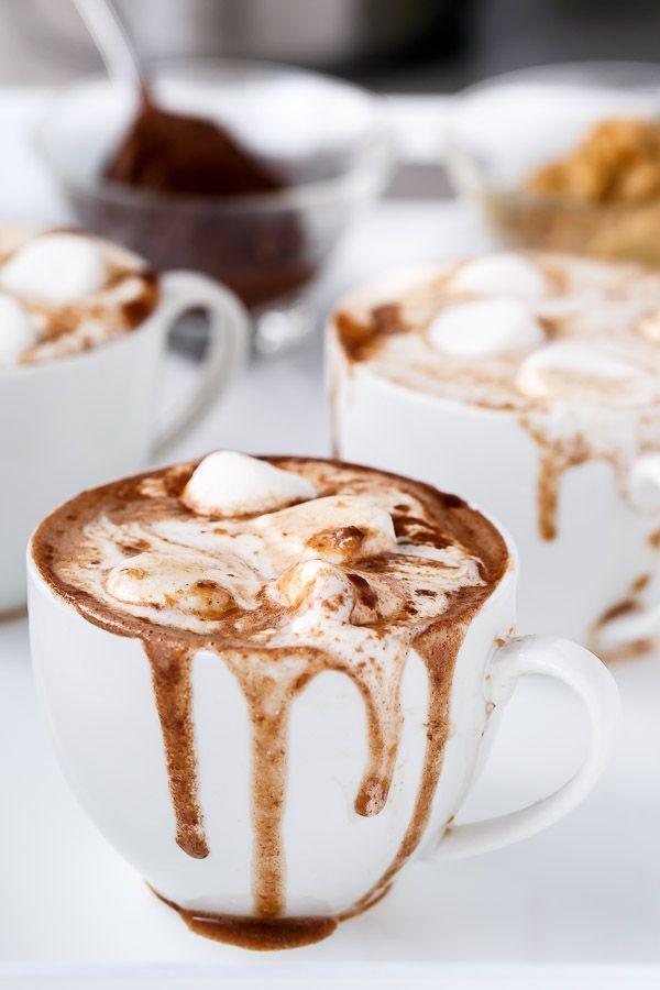 Peanut Butter Nutella Hot Chocolate