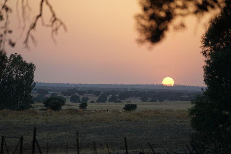Puesta de Sol en La Santa. Badajoz