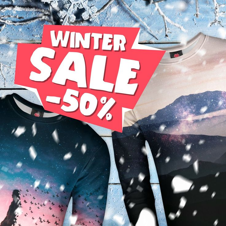 Winter sale is getting crazy!‼️😱 50% OFF for everything! You better check this out.👇😉 https://liveheroes.com/en