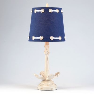 Navy Rope Anchor Table Lamp