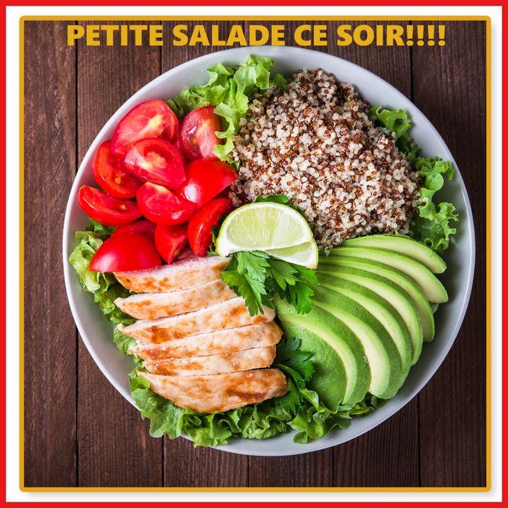 Pour ce soir une petite salade au quinoa 3 couleurs  pour 2 personnes: 120g de quinoa 3 couleurs + 1 avocat + 6 tomates + 1 beau blanc de poulet et salade verte + vinaigrette au citron vert diététique : 1 cuillère à soupe d'huile d'olive + le jus d'un citron vert + 1 cuillère à soupe d'eau + sel + poivre. pour finir le repas une faisselle au miel! Bon appp et belle soirée #constipation #regimeconstipation #regimeanticonstipation #transit